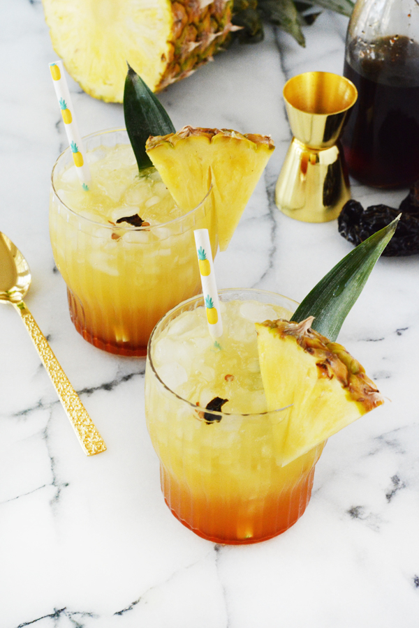 Pineapple Chile Ancho Cooler