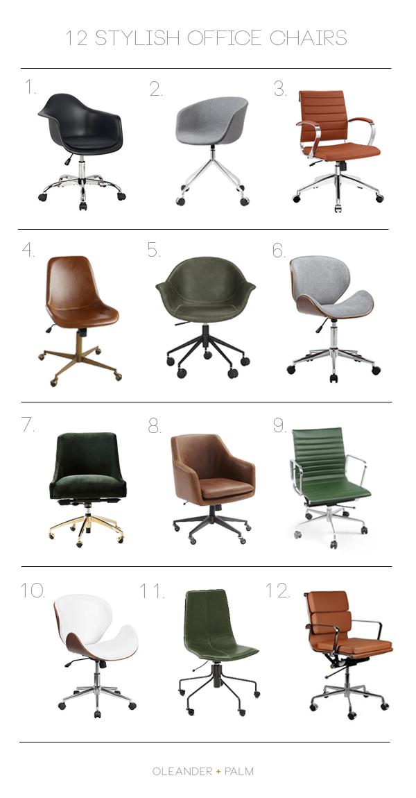 12 Stylish Office Chairs