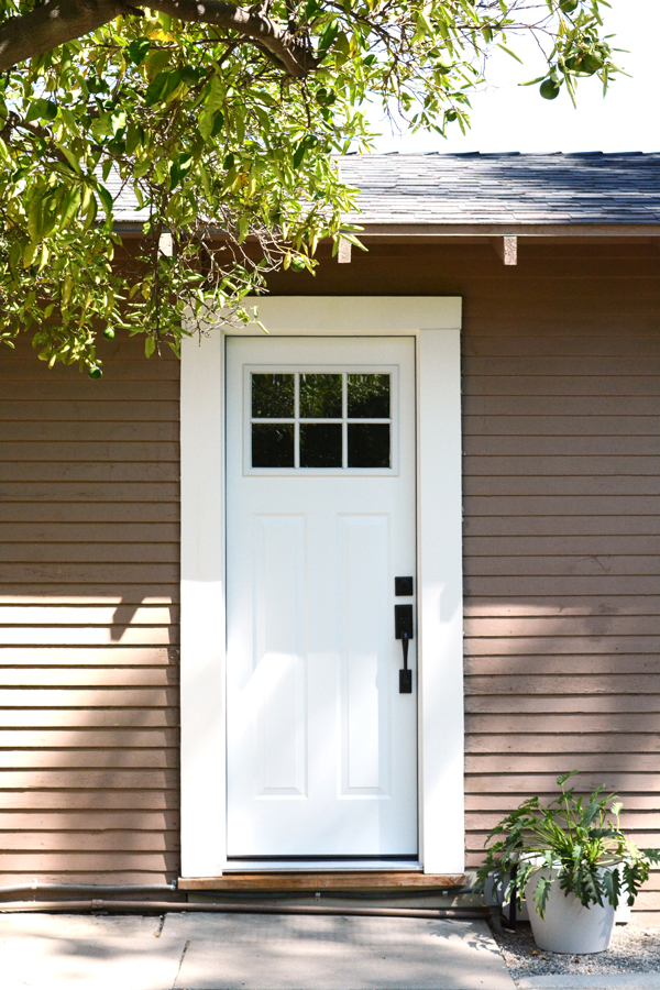 Craftsman Door by JELD-WEN, installed by Home Depot