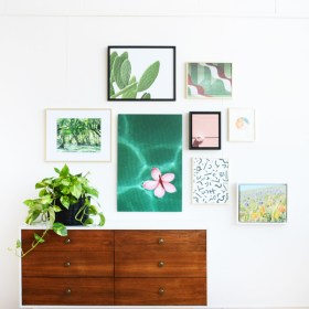 Gallery Wall Layouts and Free Downloadable Art