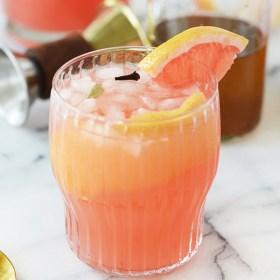 Spiced Grapefruit Spritzer