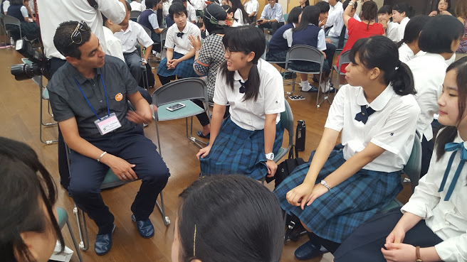 brahim with students.jpg