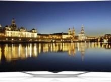 LG 55EC930V test OLED TV Curved 55 Zoll