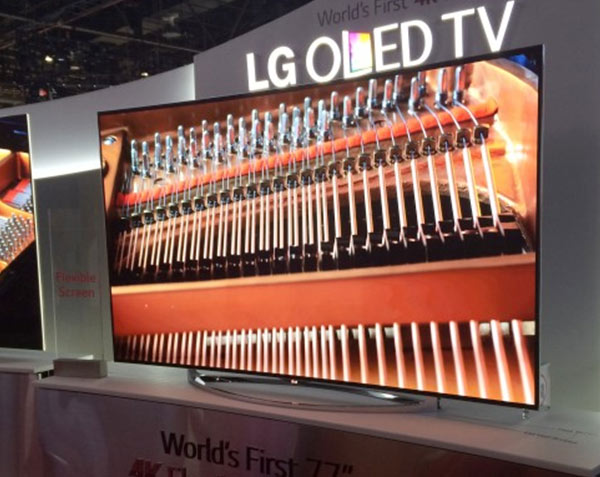 LG Flexible UHD OLED TV