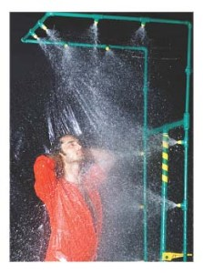 Decontamination Units portable safety shower