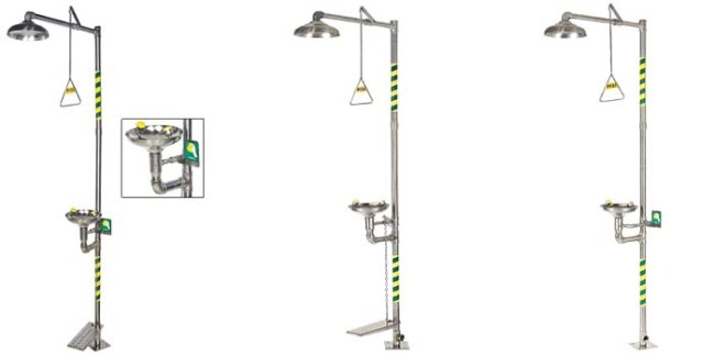 Stainless Steel Emergency shower-bd