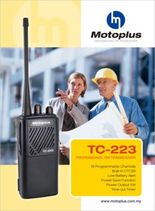 Motoplus Walkie Talkie TC223