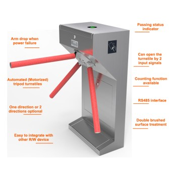 Tripod Turnstile gate importer in ctg