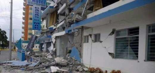 Derrumbres en Oaxaca por sismo de 7.2