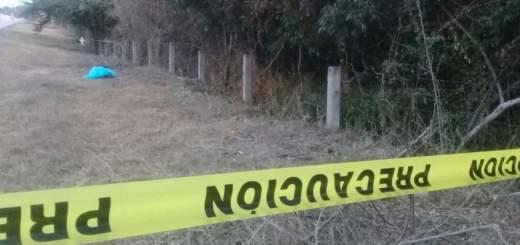Hallan a un hombre asesinado a balazos junto a la autopista Mazatlán-Tepic, en Concordia