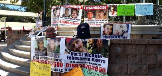 Gobierno sigue apostando al olvido en materia de desaparecidos, protestan