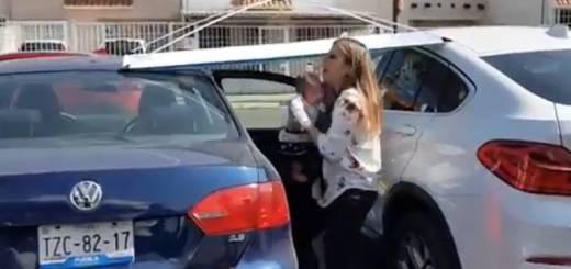 Olvidan a bebé en auto y comienza a asfixiarse
