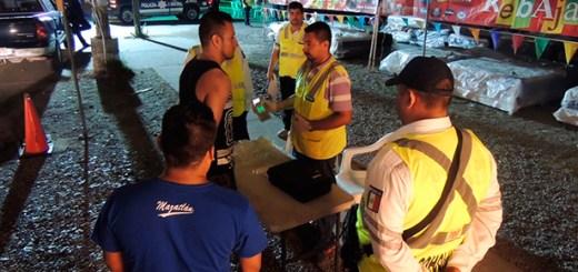 Operativo del alcoholímetro continúa para evitar accidentes y salvar vidas en Mazatlán