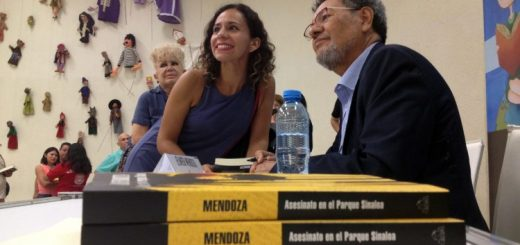 "Presenta Élmer Mendoza ""Asesinato en el parque Sinaloa"""