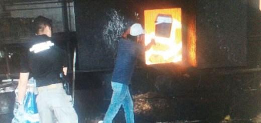 Narcóticos que estaban asegurados en diferentes puntos del estado de Sinaloa son incinerados