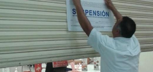 Profeco suspende negocios en la Central de Autobuses en Culiacán