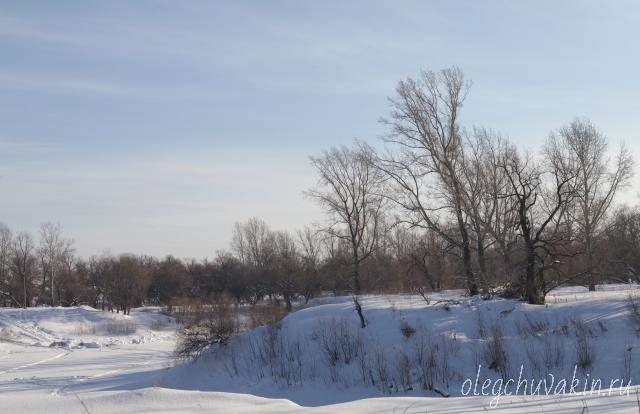 Река Тобол зимой, Олег Чувакин, рассказы