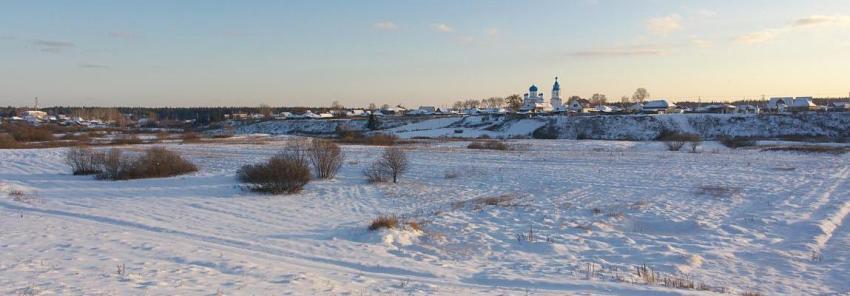 Сельская церковь зимой, Олег Чувакин, рассказ Кто украл рисунок