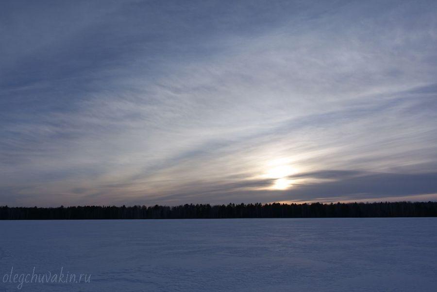 Мартовский закат, фото