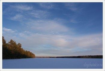 Небо, снег, солнце, фото, Олег Чувакин, 11