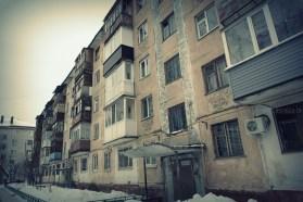 Тюмень, город, фото, дома, окна, хрущёвки