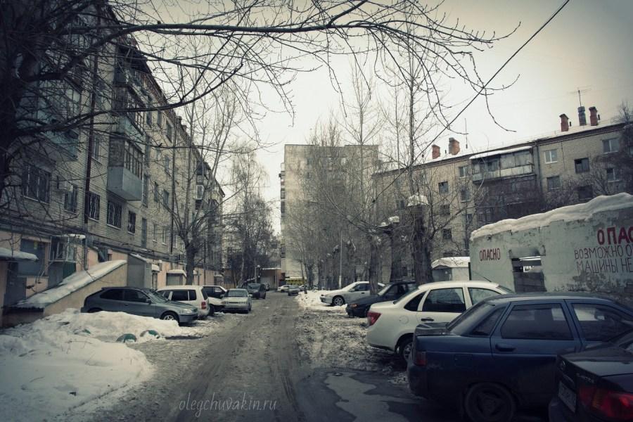 Тюмень, улица Тульская, двор, фото