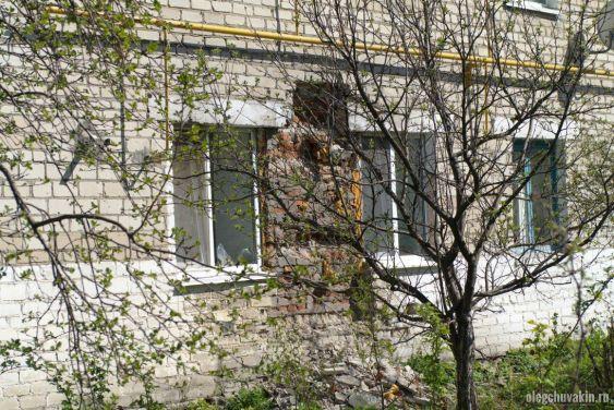 Разрушается дом, село, п.г.т., разруха, Россия