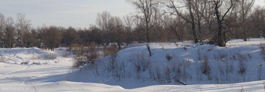 Река Тобол, зима, рассказ В Москву, об октябрятах, Олег Чувакин
