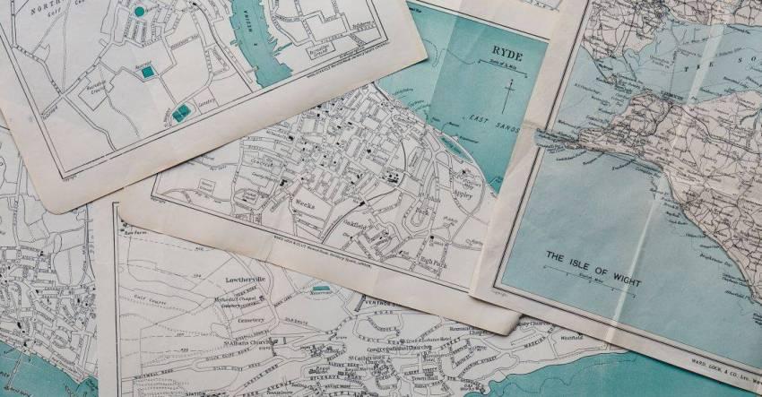 Старые карты, фото, редкие слова