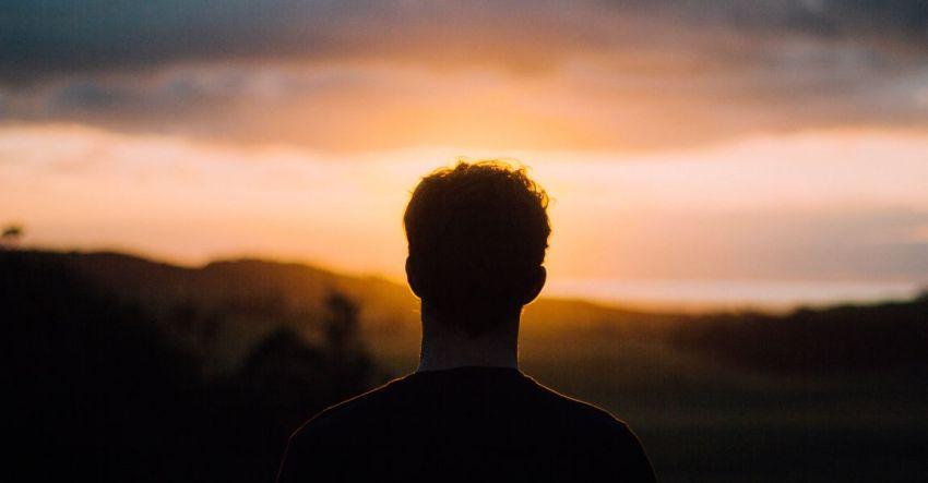 Силуэт, закат, фото, Андрей Кузечкин, рассказ, Пишущая машинка, Мишаня
