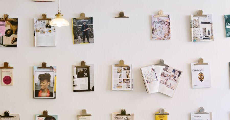Комната писателя, стены, фотографии, писательство, фото