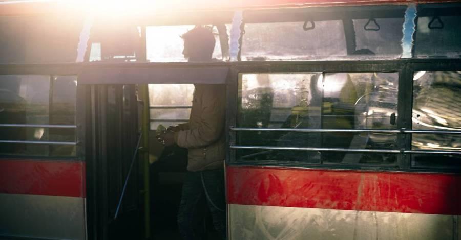 Трамвай, кондуктор, фото