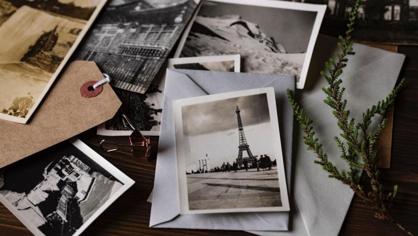 Эйфелева башня, Париж, открытка, письма, рассказ