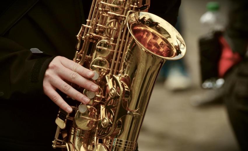 Саксофон, джаз, концерт, звуки