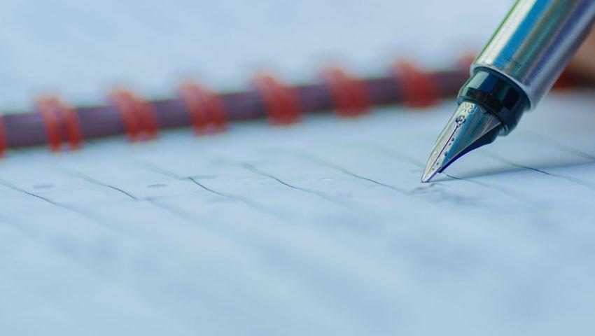 Ручка Паркер, пишет, блокнот, писатель, рукопись, литература, конкурс, рассказ