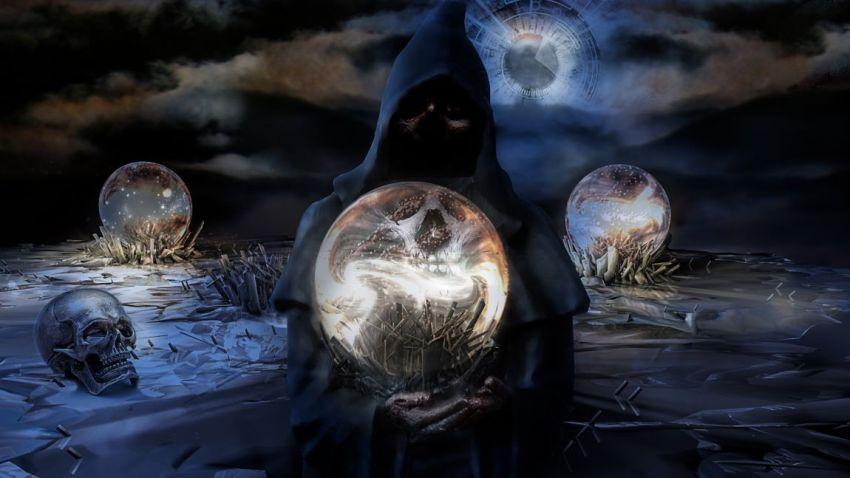 Стеклянный шар, сгусток, Джулиан Мэндрид, хозяева мира