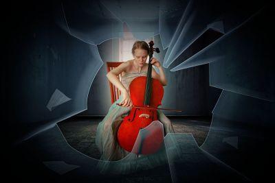 Женщина, виолончель, счастье, вопреки