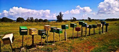 Почтовые ящики, подписка, счастье, почта