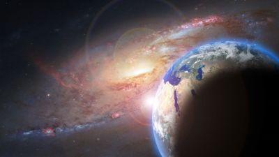 Планеты, Земля, Галактика, космос, вдохновение
