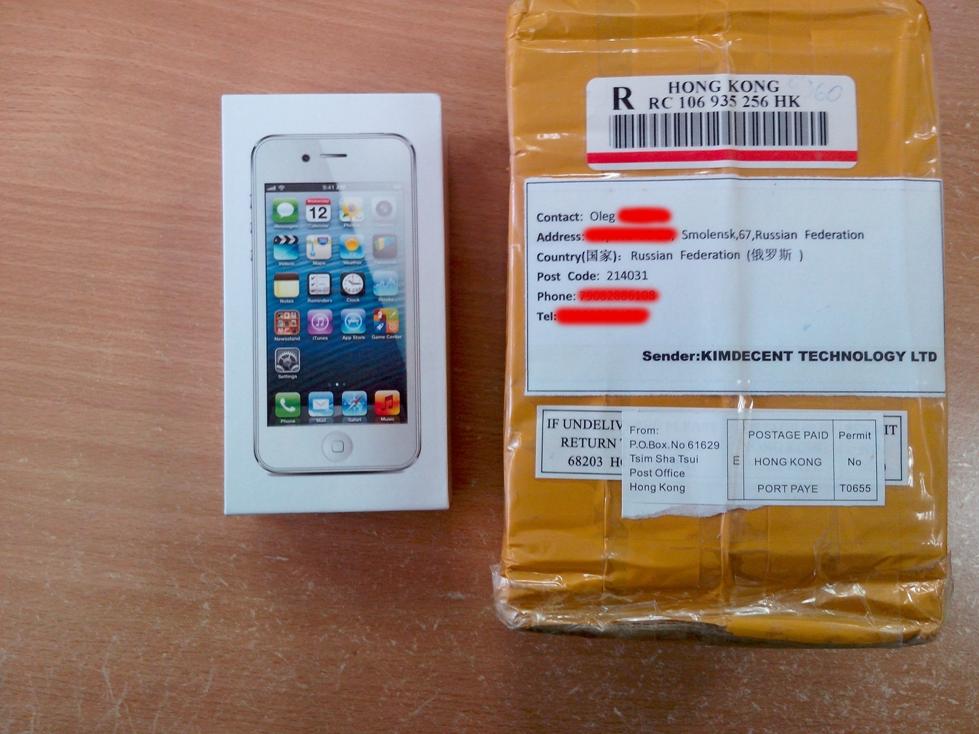 Как я купил китайский iPhone 5 Android