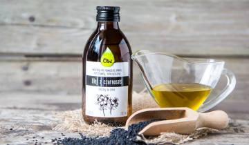 olej z czarnuszki na raka