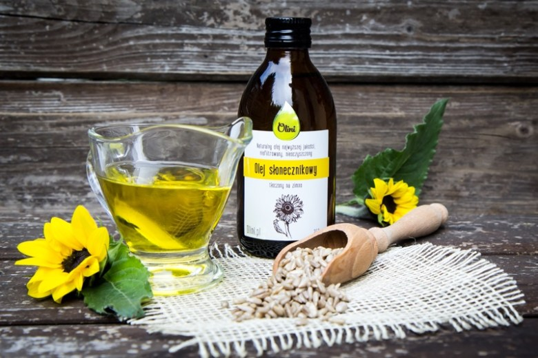 Olej słonecznikowy w kosmetyce