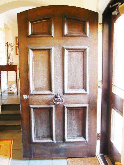 Restoration Amp Preservation Doors For Carved Oak Door