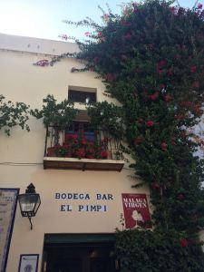 Málaga capital, el Pimpi, un clásico de la gastronomía malagueña