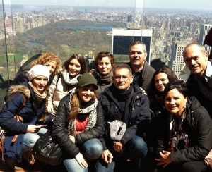 Nueva York, Central Park desde el Top of the Rock