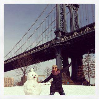 Con Uniqlo en pleno invierno en Nueva York, regalos para Navidad
