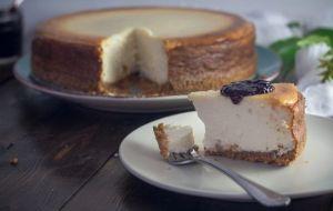 La mejor tarta de queso, un postre ideal para San Valentín