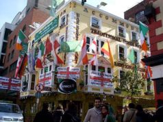 Pub tradicional irlandés en Temple Bar