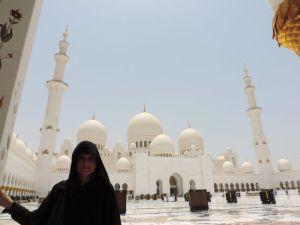 Mezquita de Abu Dhabi