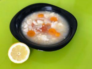 Limón para la sopa de arroz